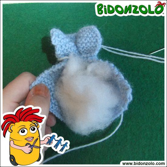Coniglietti in lana