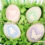 Lavoretti per Bambini: le Uova di Pasqua decorate con i pennarelli