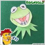 Disco orario di Kermit per la Festa del Papà