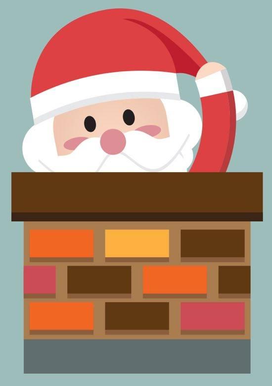 Le père Noël est mécontent