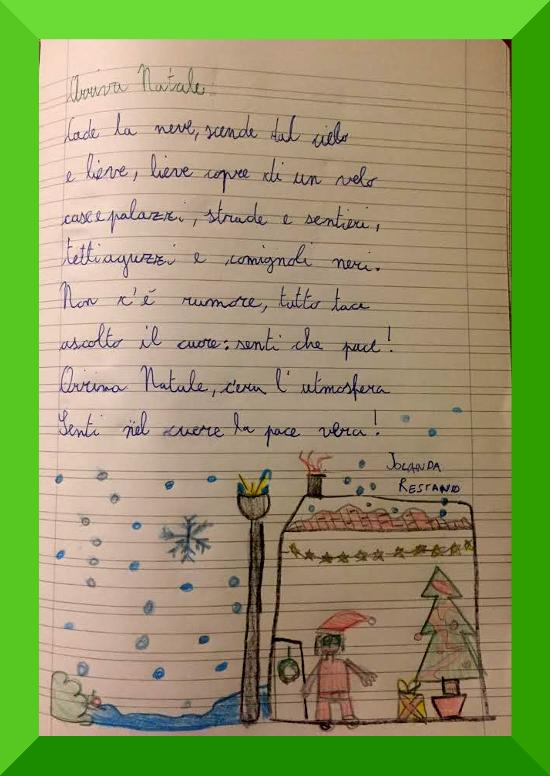 Arriva Natale Di Jolanda Restano Natale Su Filastrocche