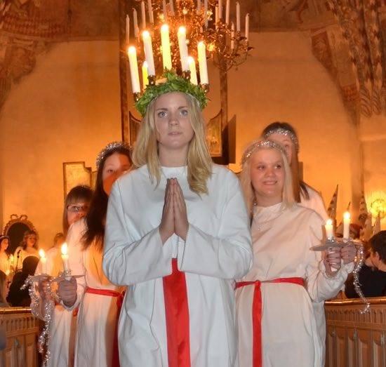La corona di Santa Lucia