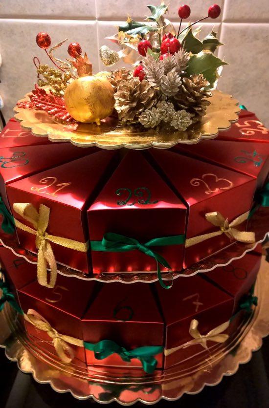 Torta A Forma Di Stella Di Natale.Calendario Dell Avvento La Torta Di Natale Il Natale Su