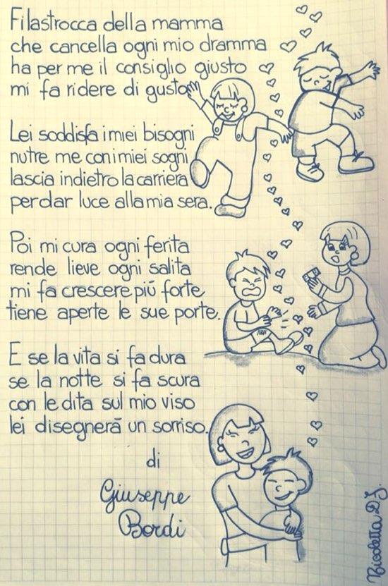 Filastrocca Della Mamma I Testi Di Giuseppe Bordi In