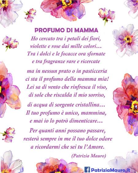 Compleanno Mamma Poesia.Profumo Di Mamma I Testi Per La Festa Della Mamma In Filastrocche It