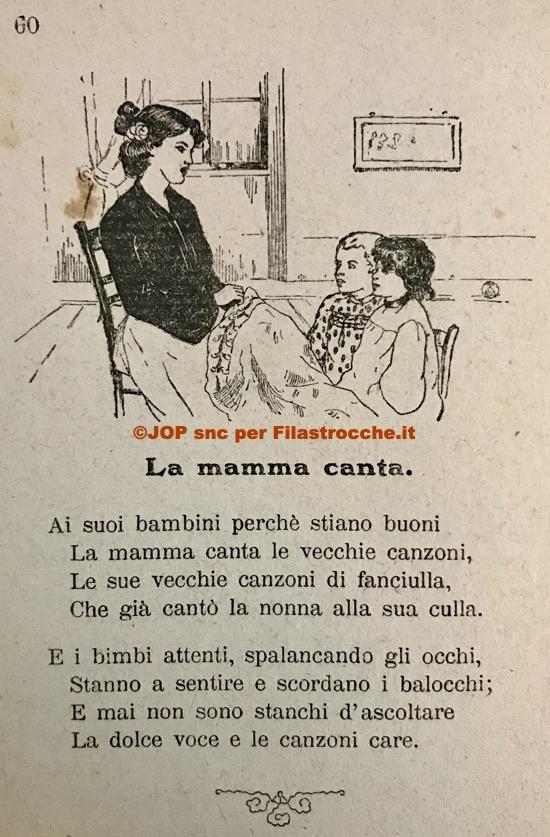 mamma canta