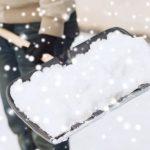 Natale degli spalatori di neve