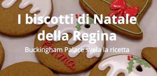 Biscotti di Natale della Regina