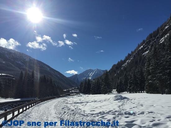 Inverno festa della neve