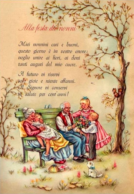 Alla Festa dei Nonni