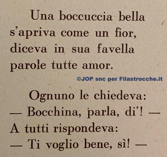 Boccuccia bella