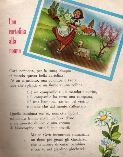 Una cartolina alla nonna
