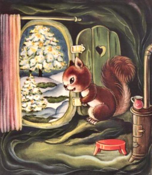 Natale nel bosco