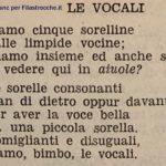 Le vocali