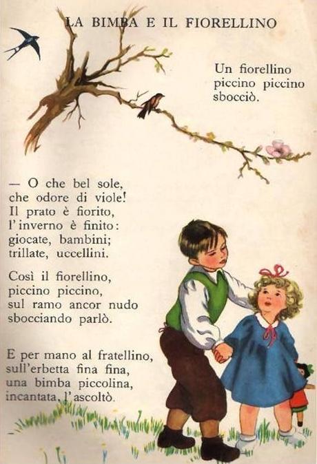 La bimba e il fiorellino