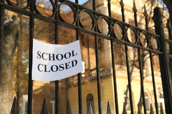 Filastrocca della scuola chiusa