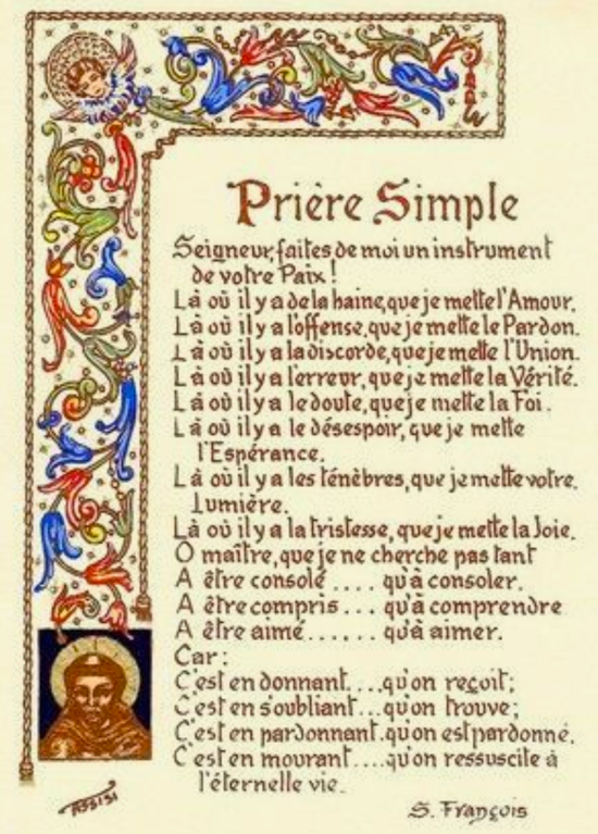 Prière simple