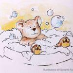Il bagno dell'orsacchiotto