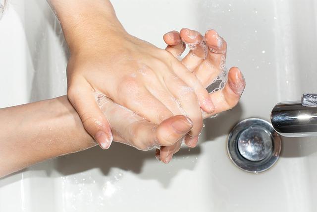 Mi lavo le mani