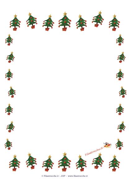 Cornici Di Natale.Idea Regalo Per Natale Cornice Vuota Con Gli Alberi Di