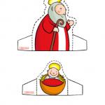 Addobbi di Natale – Il Presepe, La Sacra Famiglia