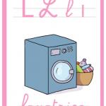 Abbecedario a colori – Lettera L