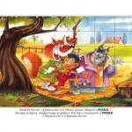 Gioco – Puzzle, Pinocchio con il Gatto e la Volpe