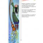 Cose utili – Segnalibro con la strega sulla scopa