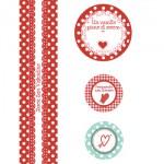 Etichette per Nutella e regali di San Valentino