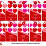 """Decorazioni per San Valentino: bigliettini """"Buon San Valentino"""""""
