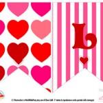 Decorazioni per San Valentino: festone LOVE