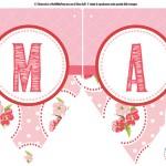 Festone per la Festa della Mamma: W la Mamma!