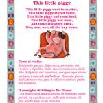 Imparare l'inglese cantando: This Little Piggy
