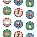 Adesivi di Natale: pagina 1 – 5 cm