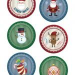 Adesivi di Natale: pagina 2 – 8 cm