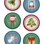 Adesivi di Natale: pagina 4 – 8 cm