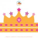 Corona da Regina colorata