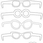 Accessori per Carnevale: Occhiali e baffi in bianco e nero