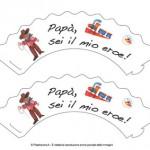 Portacupcake per la Festa del Papà: sei il mio eroe!