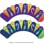 Portacupcake per la Festa del Papà: con le cravatte