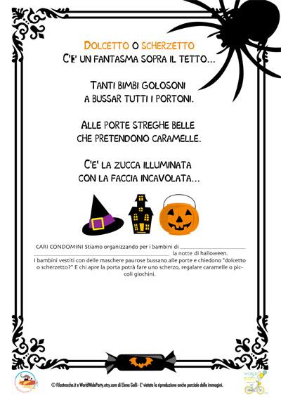 Halloween in condominio  istruzioni per i condomini - Stampa ... 8d336c8583ba