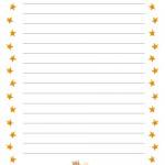 Letterina per Santa Lucia: con le righe
