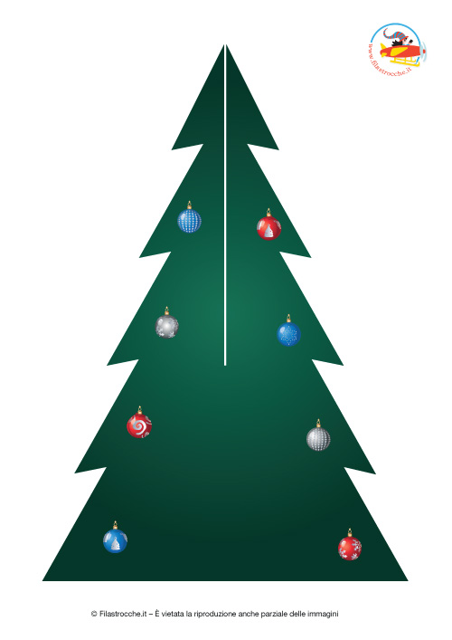 Albero Di Natale Grande.Albero Di Natale Fai Da Te Grande Da Costruire