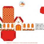 Addobbi natalizi: Casetta di Natale rossa