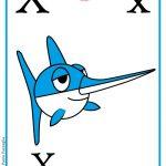ABC book: Abbecedario inglese: verifica per la Lettera X