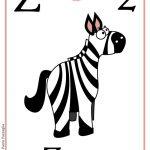 ABC book: Abbecedario inglese: verifica per la Lettera Z