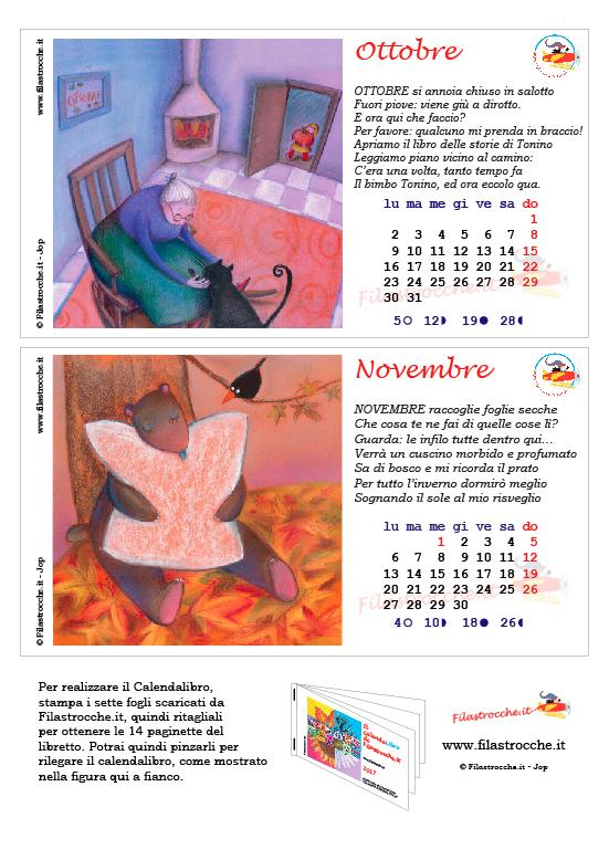 Calendalibro 2017 - Ottobre e Novembre