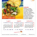 Calendario 2017 Stagionale – Completo, Prima versione