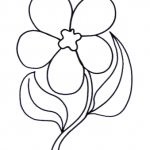 Disegno da colorare – Fiore