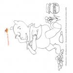 Disegno da colorare – Winnie the Pooh